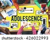 Adolescence Young Adult Youth Culture Lifestyle Concept - stock photo
