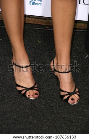 Adrianne Palicki's shoes  at Entertainment Weekly's 6th Annual Pre-Emmy Party. Beverly Hills Post Office, Beverly Hills, CA. 09-20-08