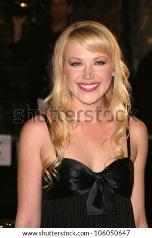 Adrienne Frantz   at the Los Angeles Premiere of 'The Curious Case of Benjamin Button'. Mann's Village Theater, Westwood, CA. 12-08-08