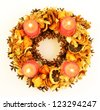 Advent wreath - stock photo