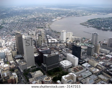 Aerial of New Orleans 4
