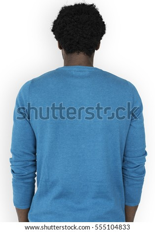 African Descent Back Facing Concept