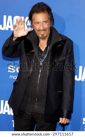 Al Pacino at the Los Angeles premiere of 'Jack And Jill' held at the Regency Village Theatre in Westwood on November 6, 2011.