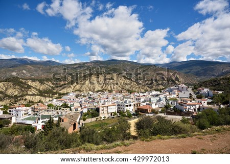 Alcolea, Small village in the Alpujarra, Almeria
