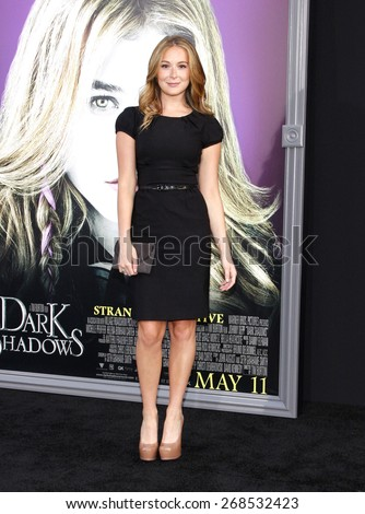 Alexa Vega at the Los Angeles premiere of 'Dark Shadows' held at the Grauman's Chinese Theatre in Hollywood on May 7, 2012.