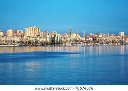 Alexandria panoramic view, Egypt