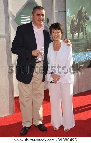 "Alfred Molina & wife Jill Gascoine at a benefit screening for his new movie ""The Sorcerer's Apprentice"" at Walt Disney Studios. July 12, 2010  Burbank, CA Picture: Paul Smith / Featureflash"