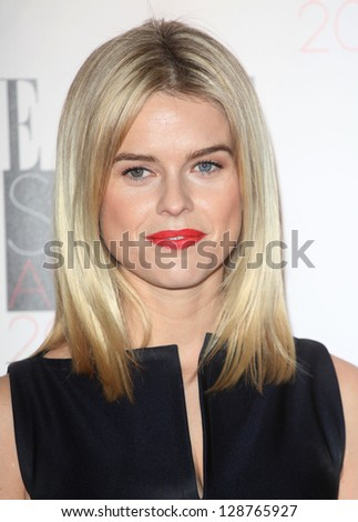 Alice Eve arriving at the 2013 Elle Style Awards, at The Savoy, London. 11/02/2013 Picture by: Alexandra Glen