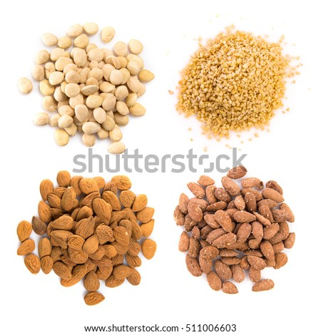 Almonds and other dried fruits