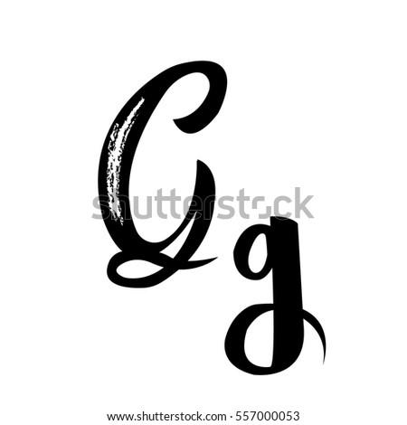 Handwritten Word Paris Vector Illustration Stock Vector
