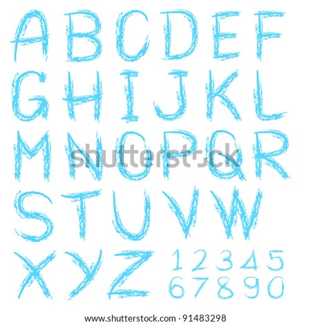 Alphabets, Numbers, Letters
