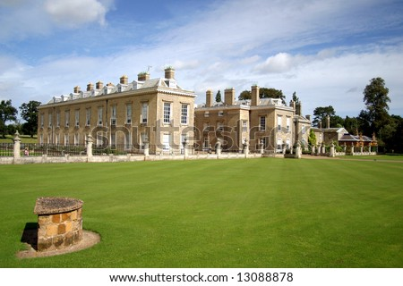 Althorp. The home of the Spencer Family and Princess Diana (England)