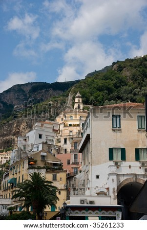 Amalfi buildings