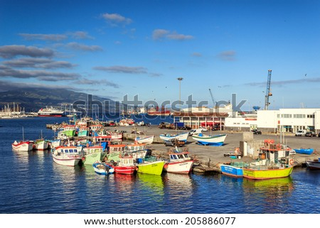Amazing Azores, Sao Miguel island fishing harbor