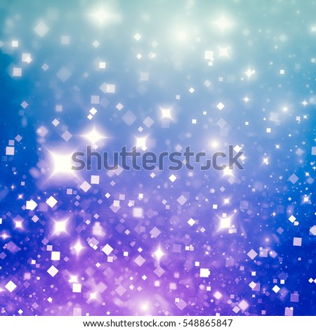 Amazingly shiny winter texture with shimmering colors in the blue-violet range. The presence of glare, giving elegance and festivity. Gives the holiday mood of expectation, joy and creativity.