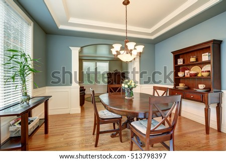 Upscale kitchen interior stock photo 1679075 shutterstock for American classic interior
