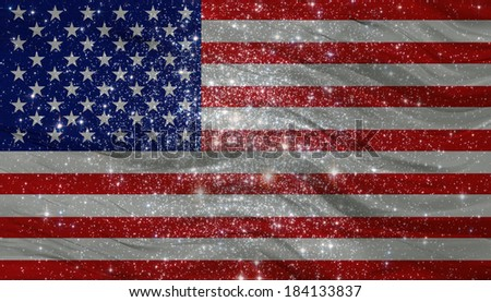 Image American Flag On Hockey Rink Stock Photo 155788499 ...