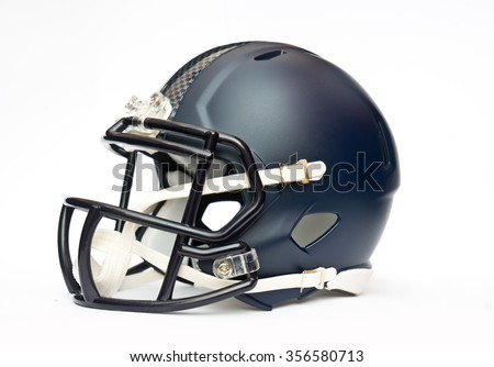 american football helmet isolated on white backgrounda
