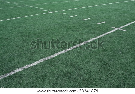 American Football Yard Line Markers