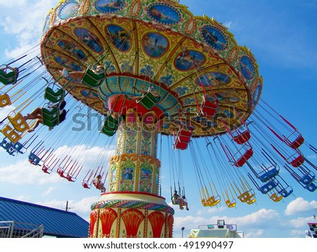 Amusement Ride Seaside Heights, New Jersey