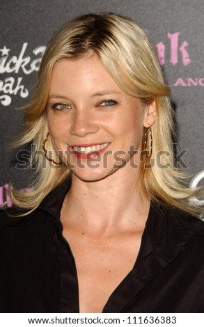 Amy Smart at the opening of a Los Angeles outpost of Pink Taco. Pink Taco, Westfield Century City Mall, Los Angeles, CA. 06-28-07
