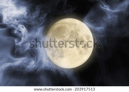 An Image of Full Moon