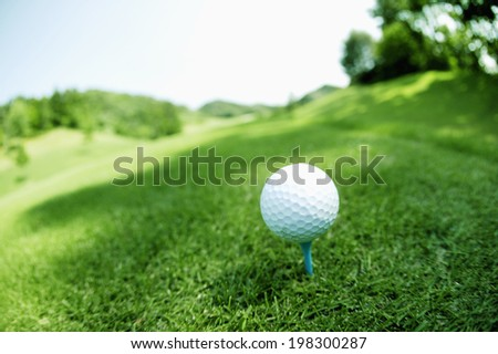An Image of Golf Course