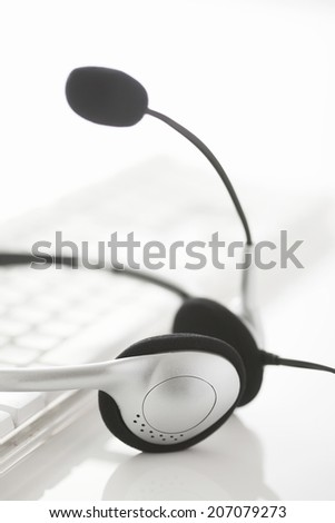 An Image of Headset And Pc