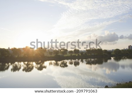 An Image of Morning Glow