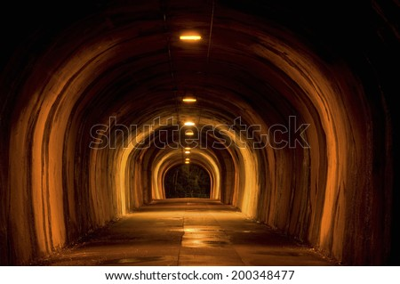 An Image of Tunnel