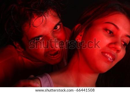 Vampires biting people videos