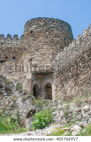 Ananuri fortress in Georgia