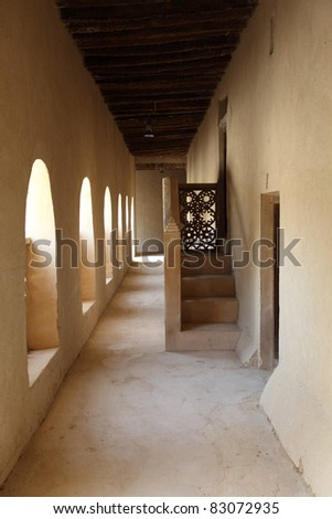 Ancient fort of Al Ain, Emirate Abu Dhabi, United Arab Emirates