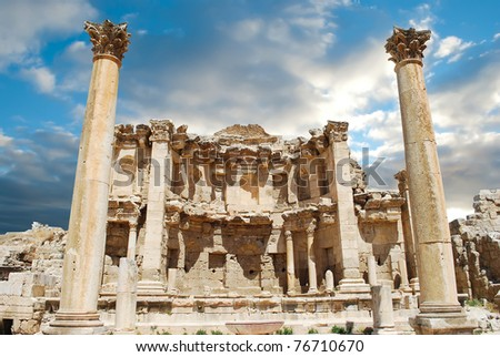 Ancient Jerash ruins,(the Roman ancient city of Geraza), Jordan