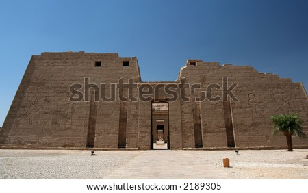 Ancient temple in Luxor, Egypt