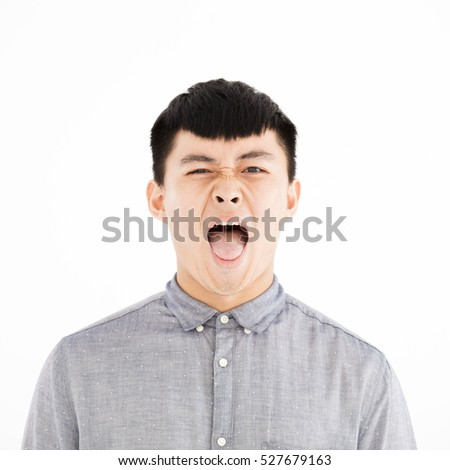 angry asian face - photo #35