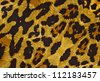Animal print on fabric. - stock photo