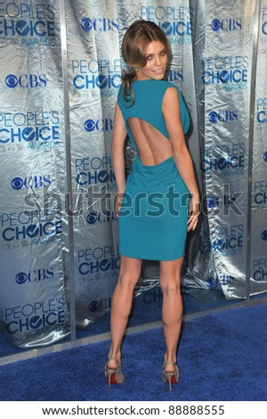 AnnaLynne McCord at the 2011 Peoples' Choice Awards at the Nokia Theatre L.A. Live in downtown Los Angeles. January 5, 2011  Los Angeles, CA Picture: Paul Smith / Featureflash