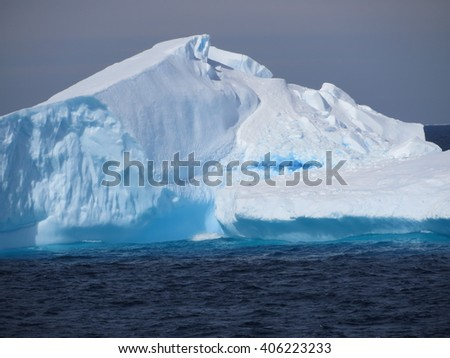 Antarctic Iceberg Beauty
