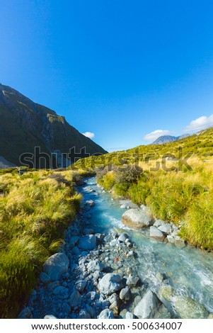 Aoraki Mount Cook National Park, New Zealand