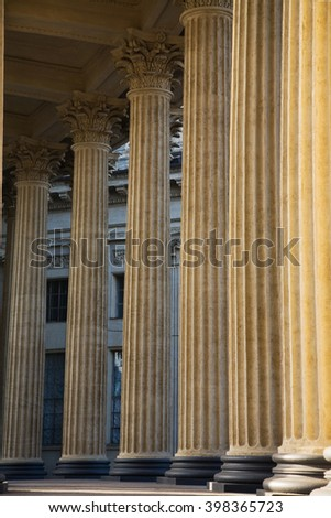 Architecture. Colonnade