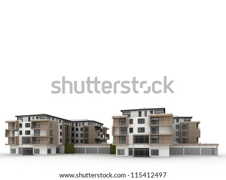 Apartment Building Design Concepts architecture design visualization apartment building stock