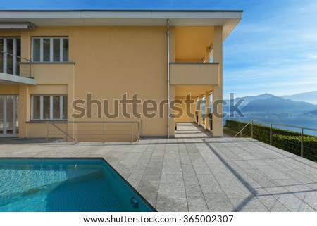 Dream house stock photo 469506767 shutterstock for Pool design dessau