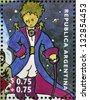 ARGENTINA - CIRCA 1995: A stamp printed in Argentina shows The Little Prince, circa 1995 - stock photo