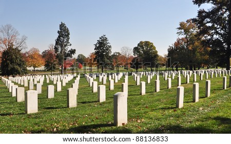 Christmas Wreaths On Gravestones Arlington National Stock Photo 91196411 Sh