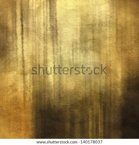 art abstract watercolor monochrome background on paper texture in old gold, beige, brown, black and grey colors