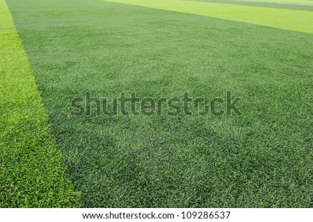 Artificial Football Field Background