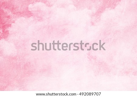artistic sky and cloud with gradient color and grunge  texture