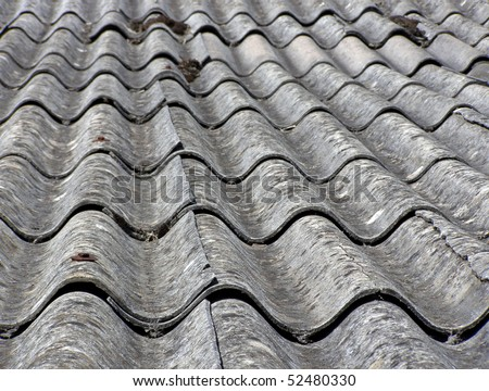 Asbestos Roof Stock Photo 52480330 Shutterstock