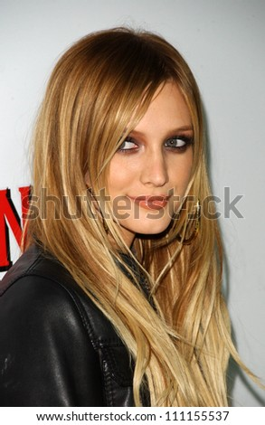 Ashlee Simpson at a launch party for the launch of Hornitos new Tequila collection, Opera, Hollywood, CA 09-20-07